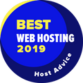 Azon cégek nyerik el, amelyek a top 10 között vannak a legjobb webes tárhelyszolgáltatók kategóriájában.
