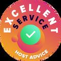 """Rászántuk az időt, hogy személyesen és anonimen ellenőrizzünk az egyes cégek mindegyikének ügyfélszolgálatát.  A """"kiválósági díj"""" azoknak a hosting szolgáltatóknak jár, amelyek eleget tettek a HostAdvice magas szintű elvárásainak az ügyfélszolgálatokkal szemben, amelyek közé tartozik, hogy a szolgáltató pontos, hatékony, átgondolt és mindenekelőtt segítőkész legyen."""
