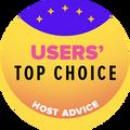 Azon tárhelyszolgáltató cégek nyerik el, amelyek a top 10 között vannak, a legjobb felhasználói értékelésekkel.